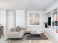 Белая гостиная — изысканное оформление современного дизайна (122 фото)