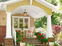 Дизайн крыльца частного дома — идеи красивого оформления в 2017 году (131 фото)