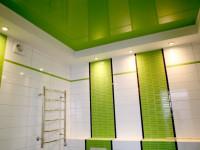 Дизайн потолка в ванной — Лучшие идеи красивой отделки на 90 фото