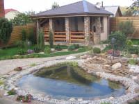 Искусственные водоемы на дачном участке — Красивый декор вашего двора! (73 фото)