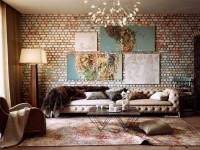 Картины для гостиной — современное искусство в красивом интерьере +131 фото