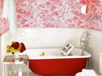 Обои для ванной комнаты — 82 фото красивых вариантов в интерьере