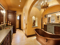 Встраиваемые точечные светильники для ванной — 81 фото красивого интерьера!