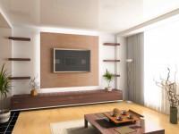 Телевизор в гостиной — идеи размещения в современном интерьере +116 фото