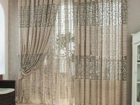 Тюль для гостиной — Самые красивые новинки для шикарного дизайна! (80 фото)