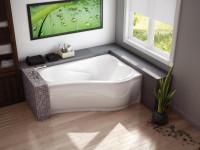 Угловая ванная комната маленьких размеров — Хитрости профессионалов на 75 фото!