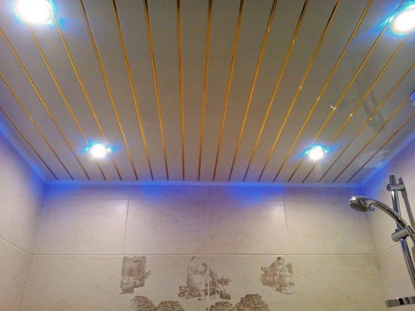 Потолок в ванной своими руками варианты 83