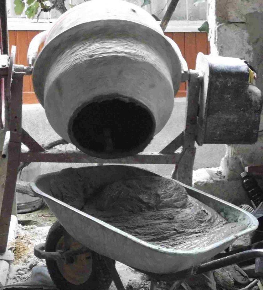 Миксера для бетона своими руками