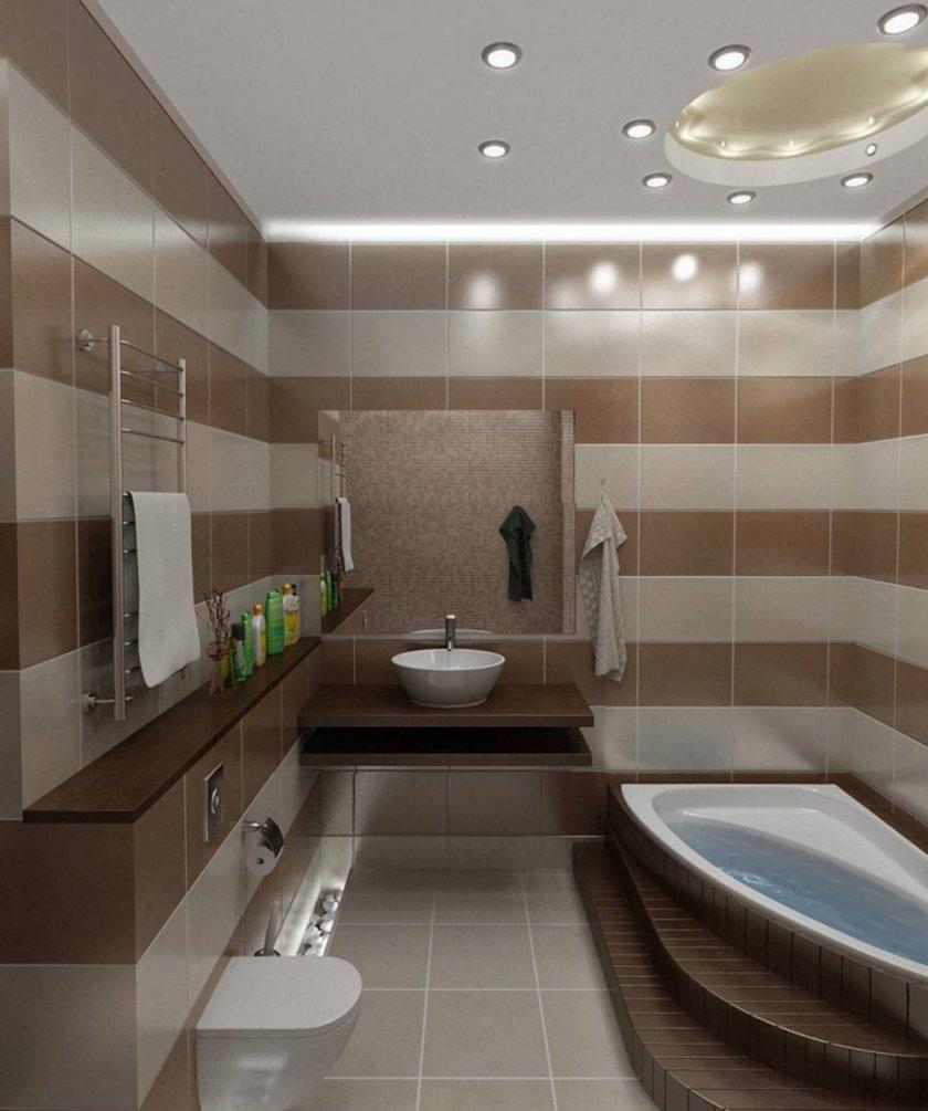 интерьер ванной 4 кв.м фото