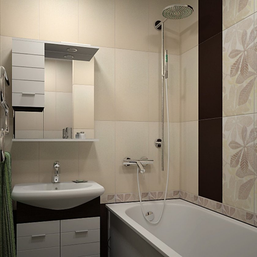 Дизайн ванны 3 на 3
