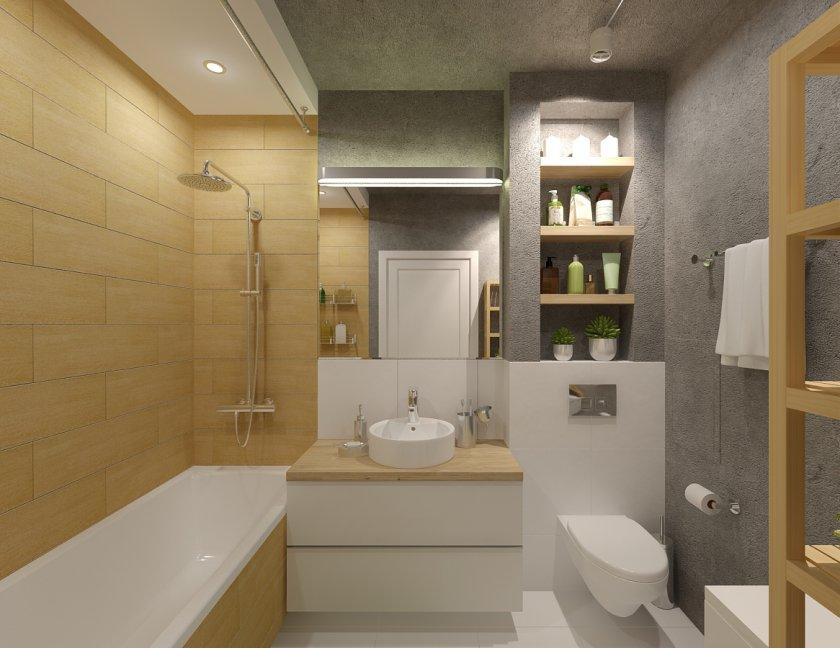 Ванная комната дизайн 3 кв м санузел совмещенный