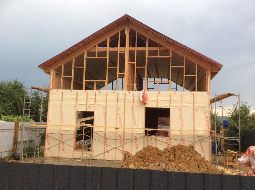 Построить дом своими руками недорого проект 61