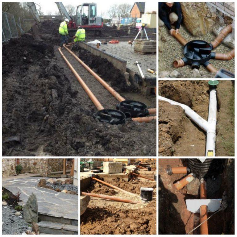 Дренаж на садовом участке своими руками на глинистых почвах 584