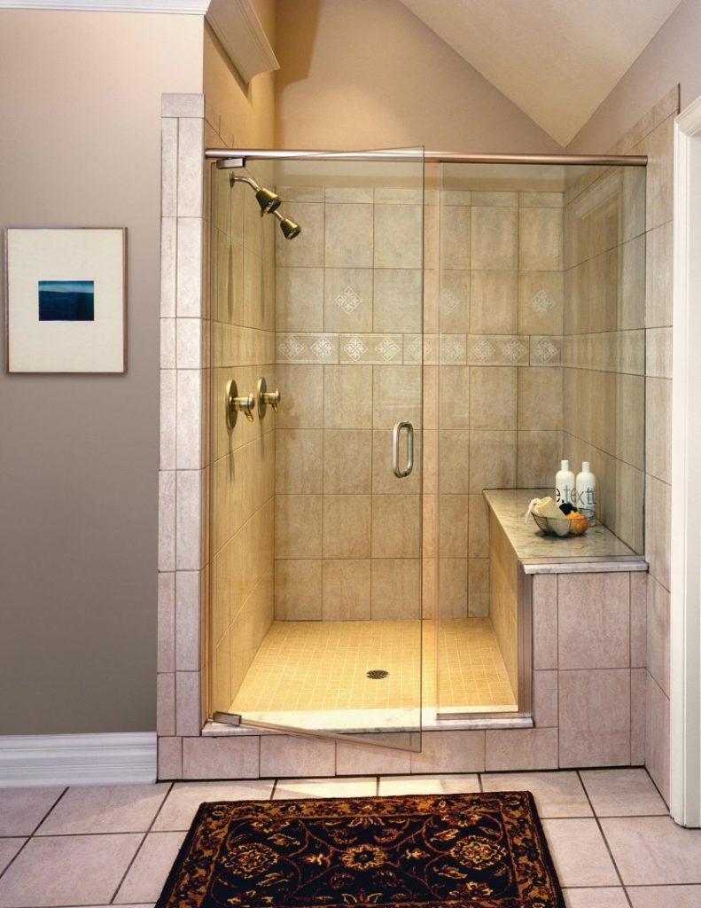 Как сделать кабинку в ванной своими 509