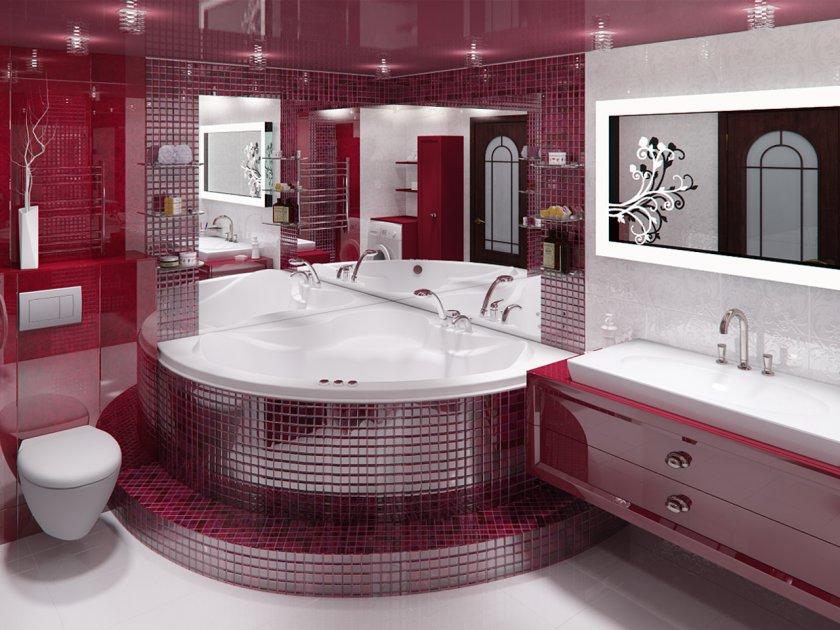 Дизайны ванных комнат в спб