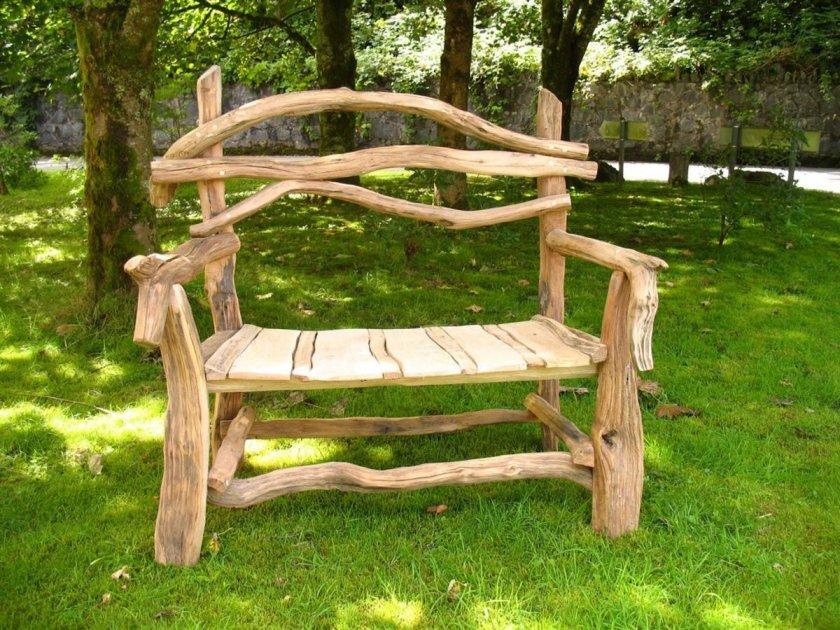 Мебель для сада и дачи фото своими руками