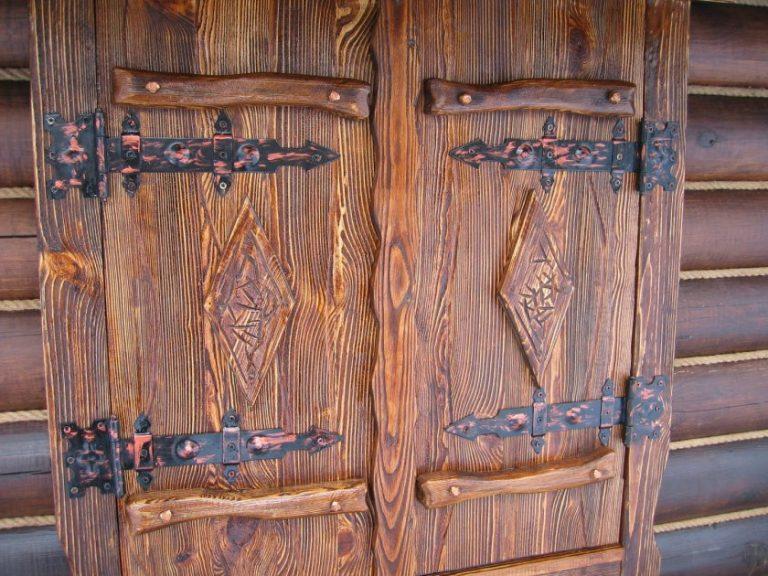 Двери в шкаф своими руками под старину