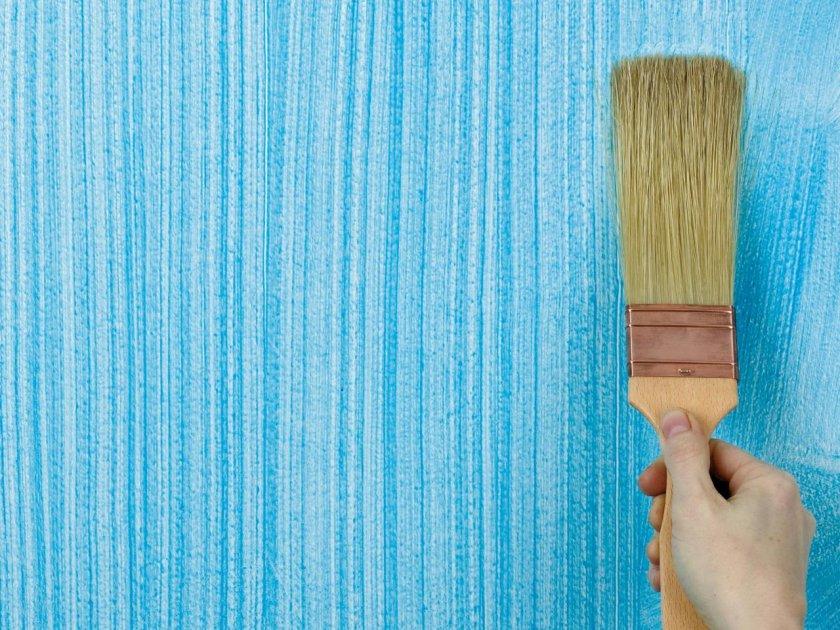 Текстурная покраска стен своими руками