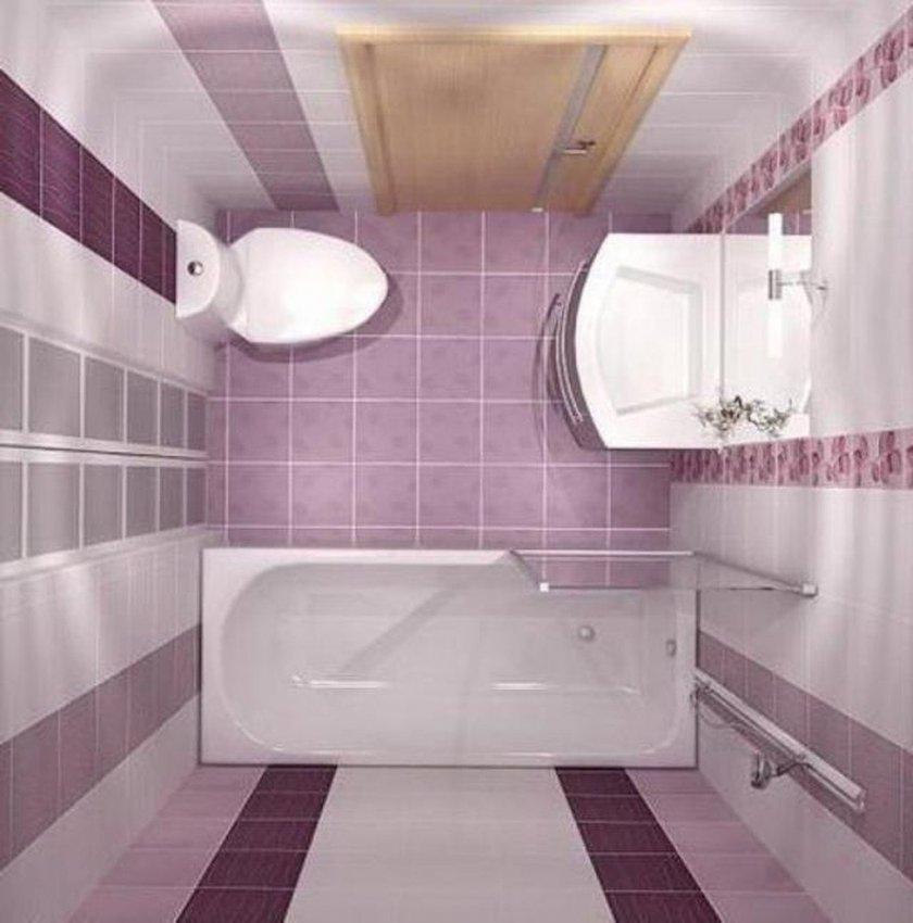 Плитка для ванной комнаты дизайн для маленькой площади 4