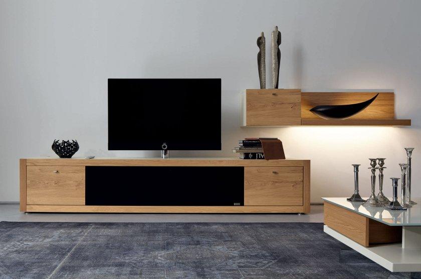 Красивые тумбочки под телевизор в интерьере фото