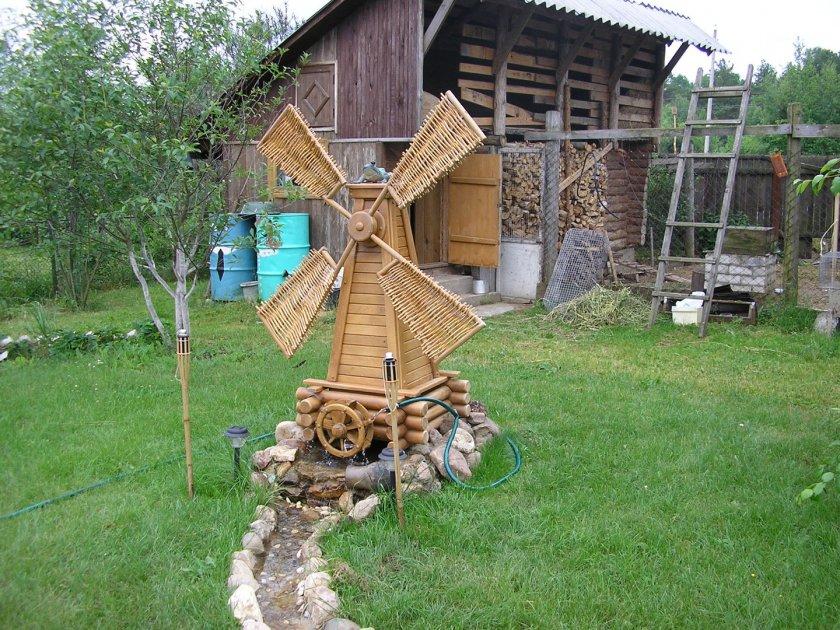 Деревянные поделки из дерева на дачи