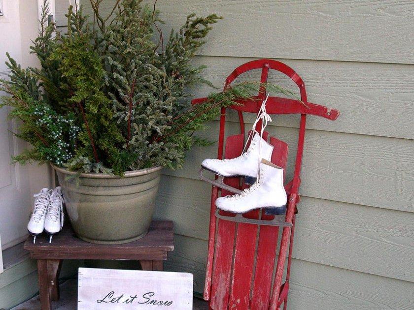 Украшения для зимнего сада своими руками