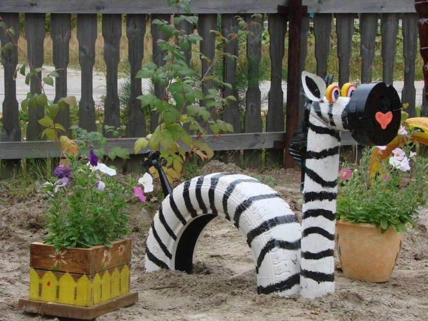 Украшения для сада своими руками как сделать