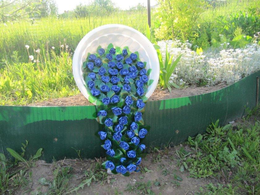 Украшаем сад и огород своими руками из подручных материалов