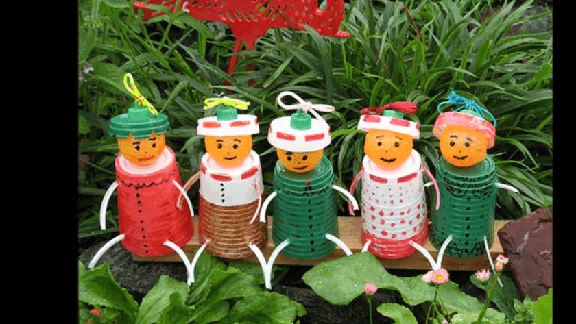 Игрушки для украшения сада