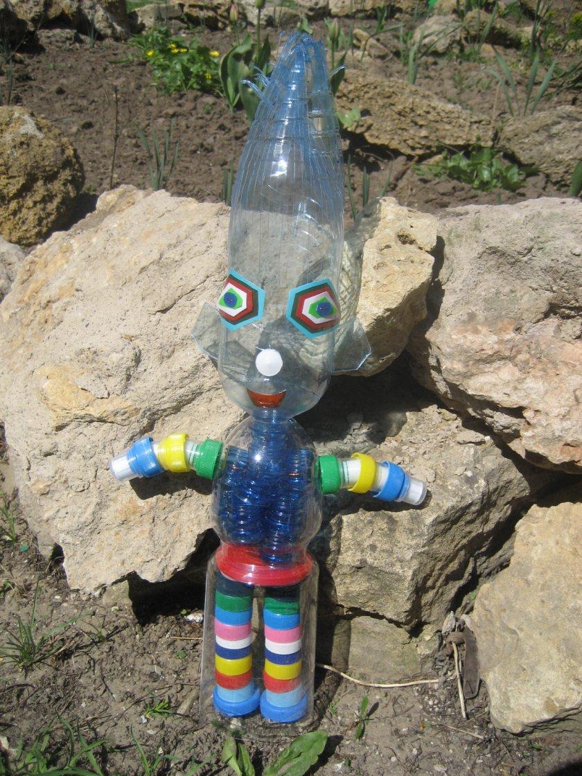 Скульптуры своими руками из пластиковых бутылок своими руками
