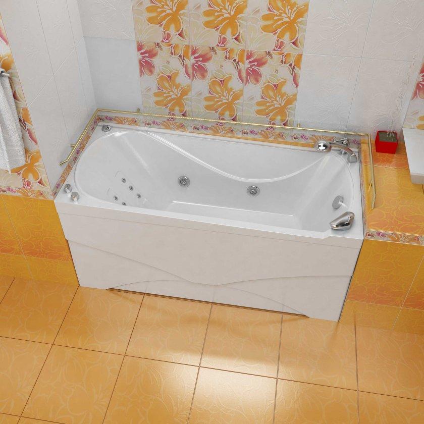 Ванная с экраном фото в интерьере