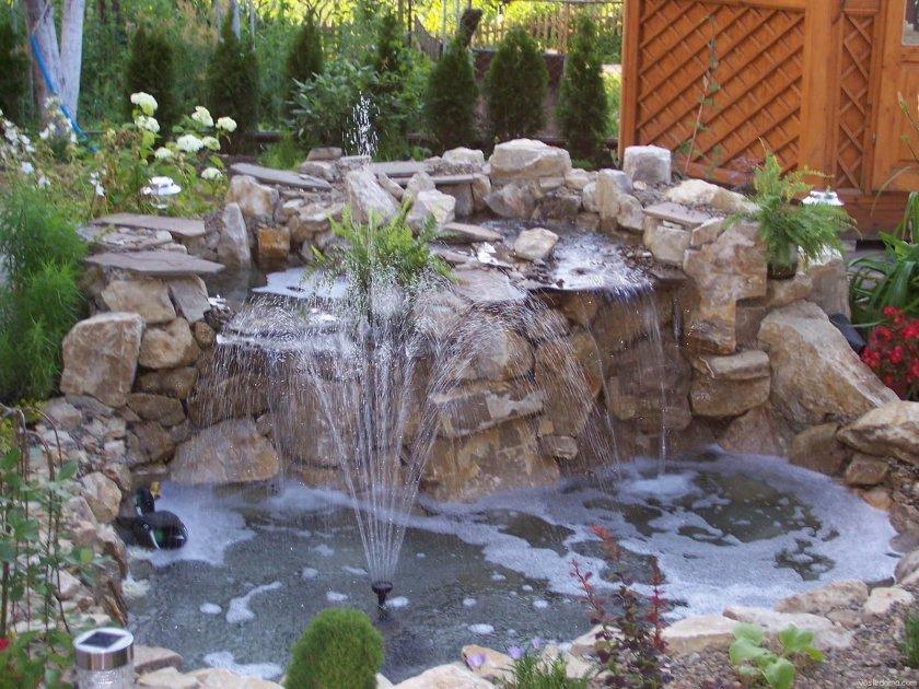 Садовые фонтаны своими руками фото
