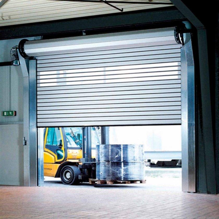 Рулонные гаражные автоматические ворота цена