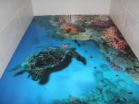 3д плитка для ванной — современные способы красивой отделки +75 фото