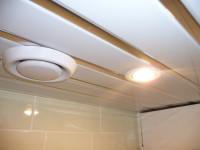 Реечные потолки для ванной — Красивые идеи потолочной отделки в интерьере! (77 фото)
