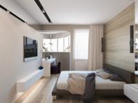 Маленькая спальня — лучшие идеи комфортного оформления и дизайна +124 фото