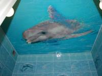 Навесной потолок в ванной — Легкие способы красивого обустройства (78 фото)