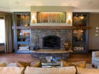 Ниша в гостиной — оригинальный дизайн в современных гостиных +121 фото