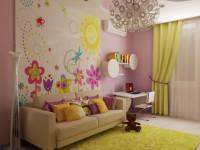 Обои для детской — оригинальные идеи отделки стен в фото обзоре!