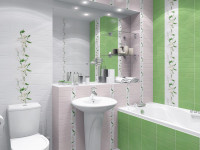 Плитка для маленькой ванной комнаты — Самая красивая кладка в интерьере! (80 фото)