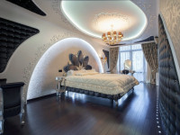 Спальня в стиле хай тек — тонкости стиля и советы по оформлению на фото