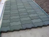 Укладка резиновой плитки — Приятный и аккуратный покров на 86 фото