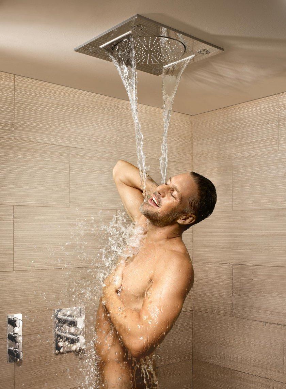 Нежный душ для парней