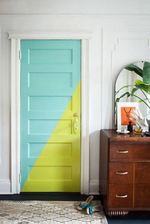 как красить двери в какой цвет фото наверное, можно