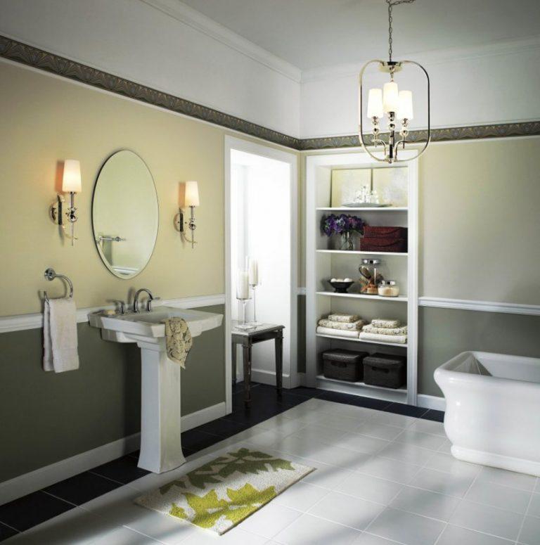 Выбираем светильник для ванной – практичные советы для потребителей