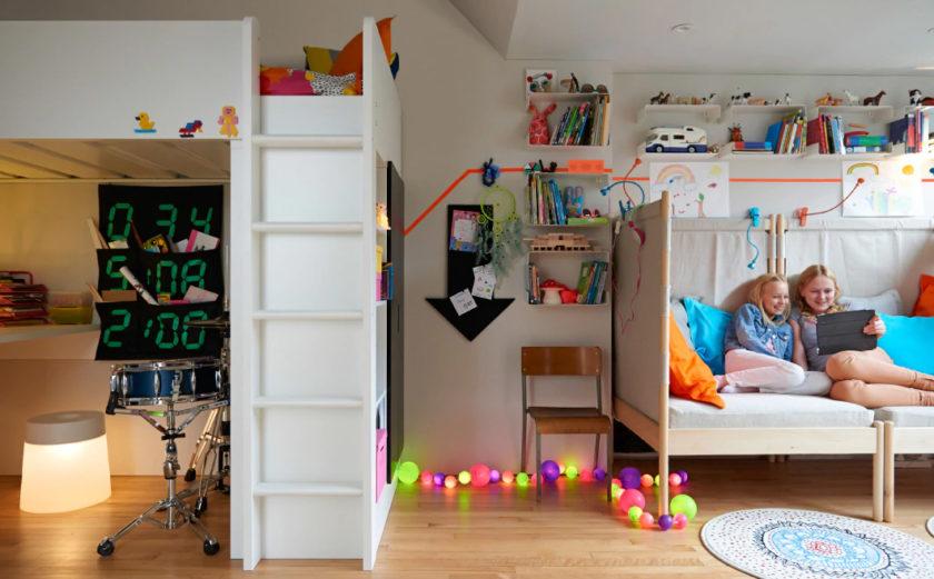 Маденькая детская спальня