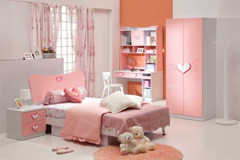Цвет детской спальни
